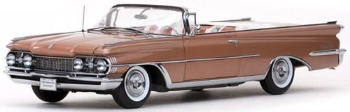 1959 Oldsmobile 98 Convertible Details Diecast Cars