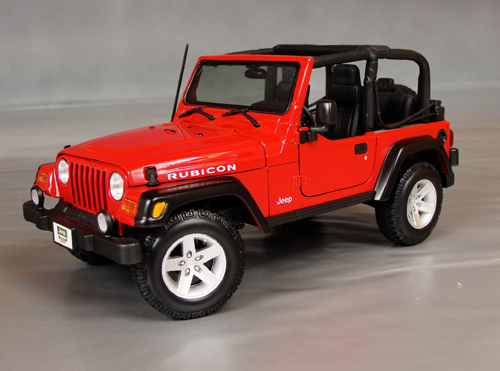 2007 jeep wrangler rubicon details diecast cars diecast. Black Bedroom Furniture Sets. Home Design Ideas