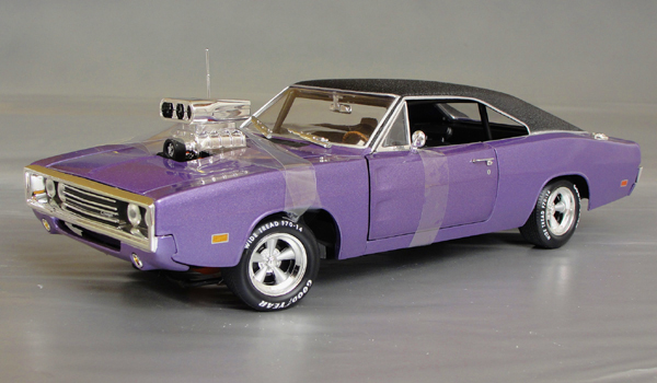 1970 dodge charger r t street mach blown 426 hemi details diecast cars diecast model cars. Black Bedroom Furniture Sets. Home Design Ideas