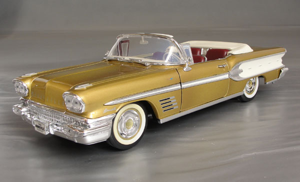1958 Bonneville, Gold Anniversary, Real Leather Seats