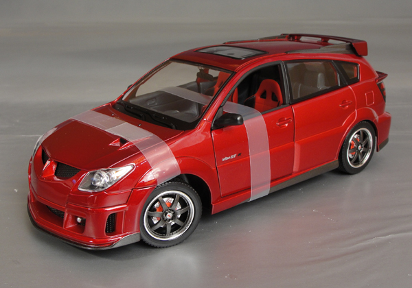 2003 pontiac vibe gt r details diecast cars diecast. Black Bedroom Furniture Sets. Home Design Ideas