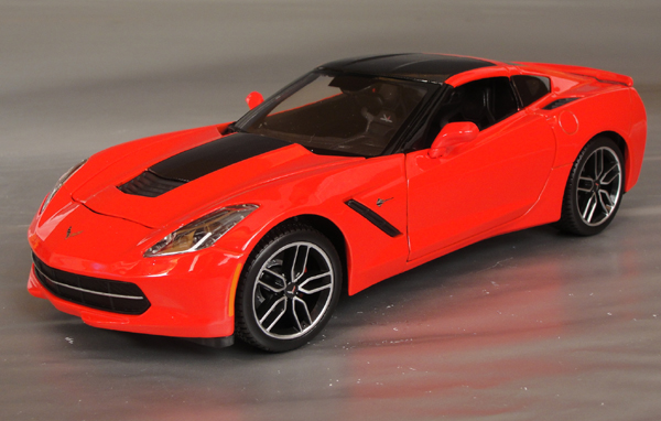 2014 Chevrolet Corvette Stingray Z51 Details Diecast