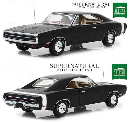 Dodge Charger From The Supernatural TV Show Details Diecast - Supernatural show car