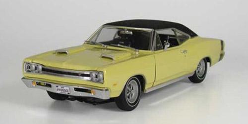 1969 Dodge Coronet R T Twin Scoop Hood Details Diecast Cars