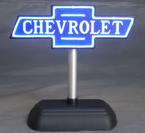 Chevrolet Neon Dealership Sign Very Cool Details
