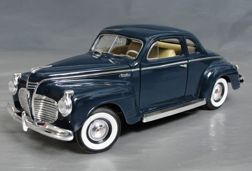 1941 Plymouth Special Deluxe Coupe Details Diecast Cars