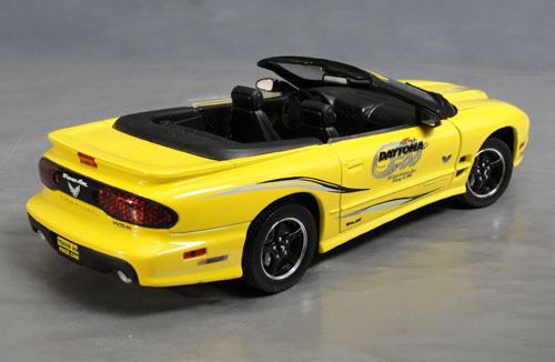 2002 Pontiac Trans Am Daytona Pace Car Details