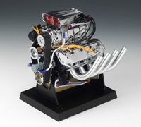 HEMI Blown Dragster Engine, Large 1/6th scale