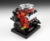 HEMI LARGE   1/6th  SCALE  REPLICA  of  the  Chrysler  426  HEMI  RACE  ENGINE