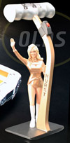 Linda Vaughn Figurine & Hurst Shifter,1/18th scale