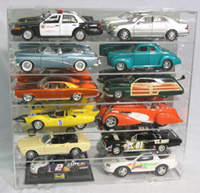 "Display Case for ""Twelve"" 1/18th scale cars..!"