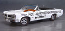 Click image to see more information about our 9th Anniversary Official Pontiac Die Cast Commemorative Collectible 1965 GTO Hurst Edition White Convertible Pace Car