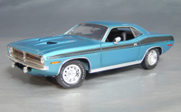Click image to see more information about our 1970 Plymouth Cuda Blue chase/black 73/74-!