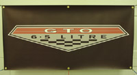 Click image to see more information about our Pontiac 6.5 GTO Banner!