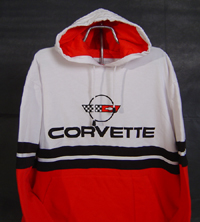 Click image to see more information about our Corvette Hoodie!
