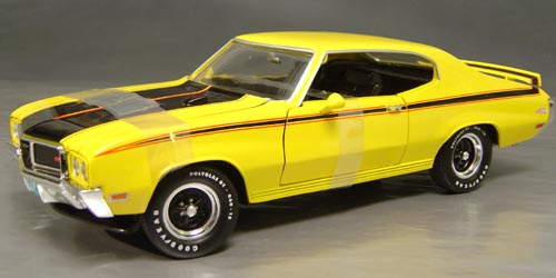 1970 Buick GSX 455 4-speed Details - Diecast cars, diecast model cars ...