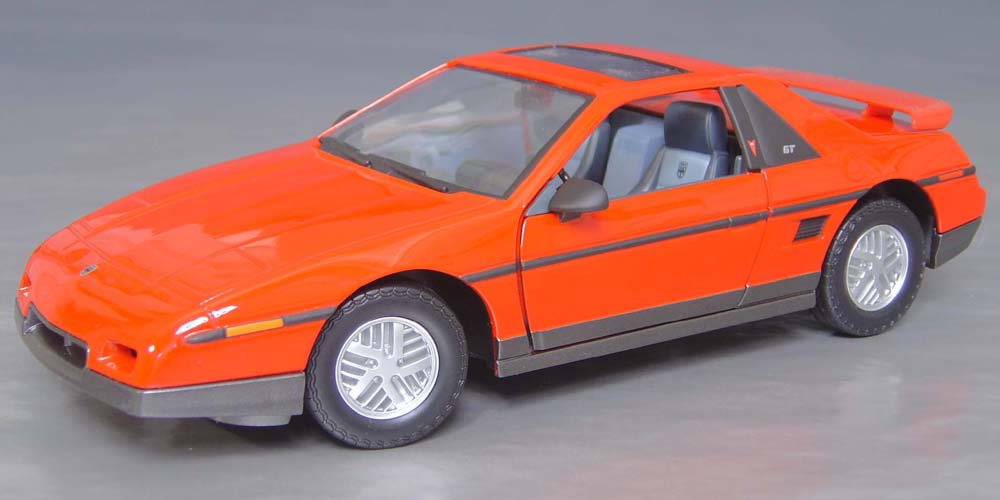 1985 Pontiac Fiero Gt With Sun Roof Details Diecast