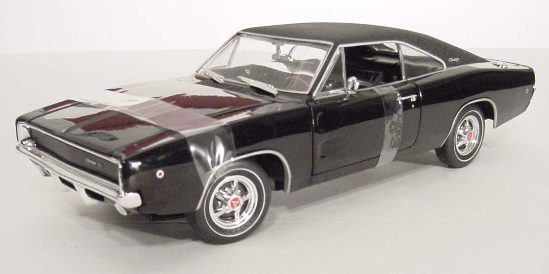 1968 dodge charger r t bullitt movie car details diecast cars diecast model cars diecast. Black Bedroom Furniture Sets. Home Design Ideas