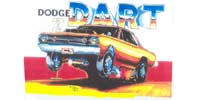 Dodge Dart  Artwork Print Design