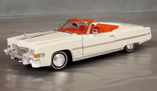 1973 Cadillac Eldorado Convertible Details Diecast Cars