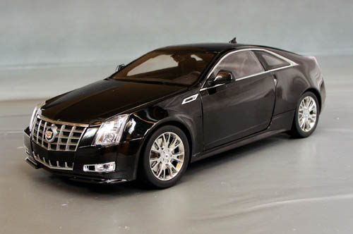 2011 Cadillac Cts 2 Door Coupe Details Diecast Cars