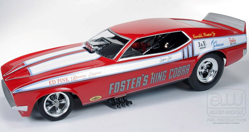 1972 Ford Mustang Funny Car,