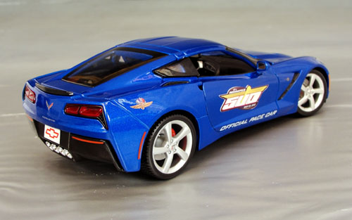 2014 Chevrolet Corvette Stingray C7,  1/18th scale Pace car
