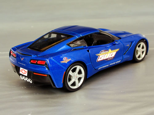 2014 Chevrolet Corvette Stingray C7, 1/24th scale Pace car