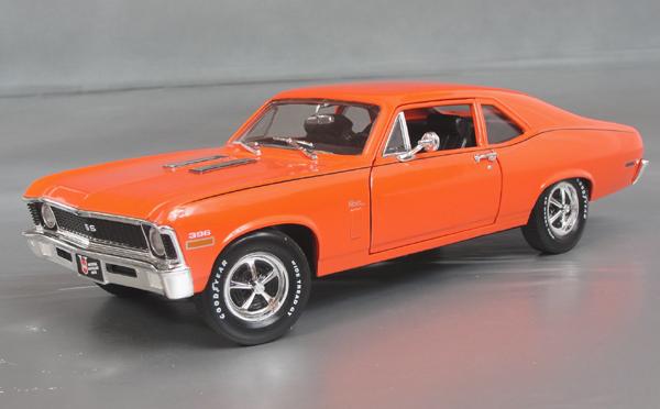1970 Chevrolet Nova Ss 396 Details Diecast Cars Diecast