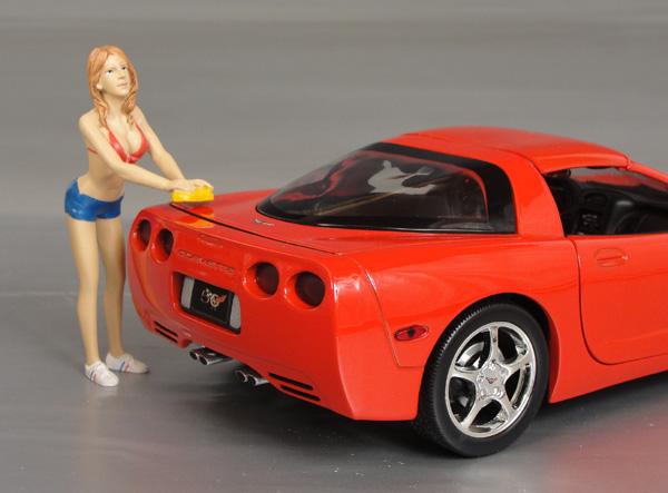 "lori ""the car wash girl"" details - diecast cars, diecast model cars"