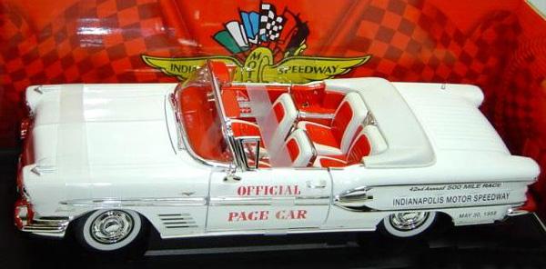 1958 Pontiac Bonneville Quot 1958 Indy 500 Pace Car Quot Details