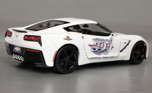 2015 Chevrolet Corvette Stingray C7, Pace Car, 1/24th scale
