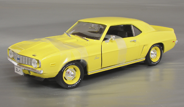 1969 Chevrolet Camaro Zl 1 427 4 Speed Details Diecast Cars