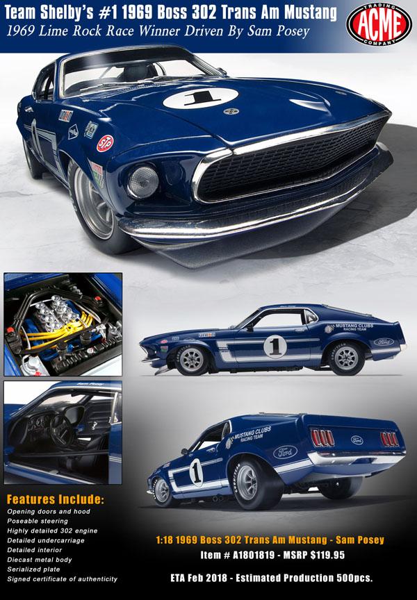 1969 Trans Am Mustang, \