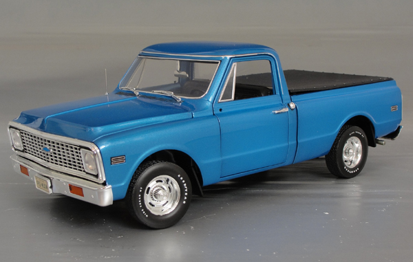 1972 Chevrolet Cheyenne C 10 Short Box Pick Up Details
