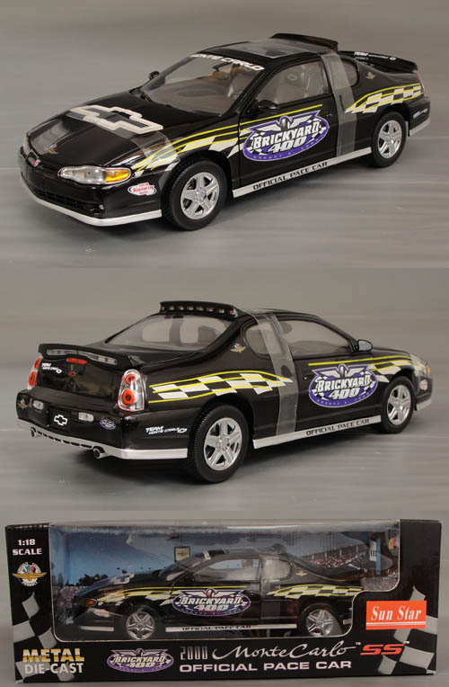 2000 Monte Carlo, 2000  Brickyard  400  Pace Car