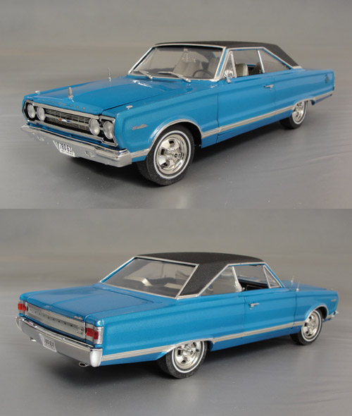 1967 Plymouth Satellite, 383 Super Commando