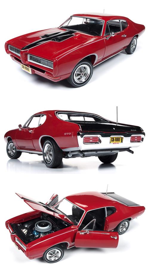 1968 Pontiac Gto Quot Royal Bobcat Quot Details Diecast Cars