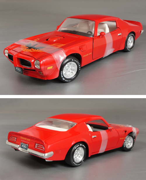 1973 Pontiac Firebird Trans Am 455-SD