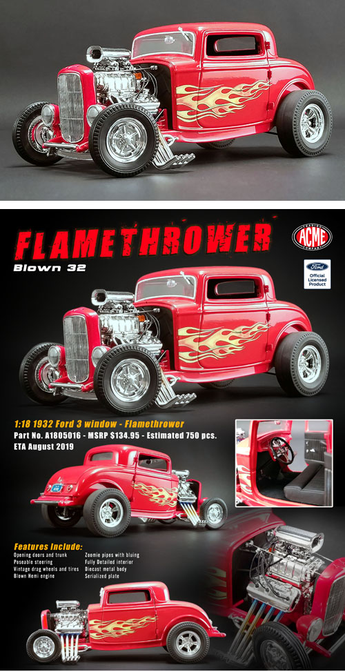 1932 Ford Blown Hot Rod,