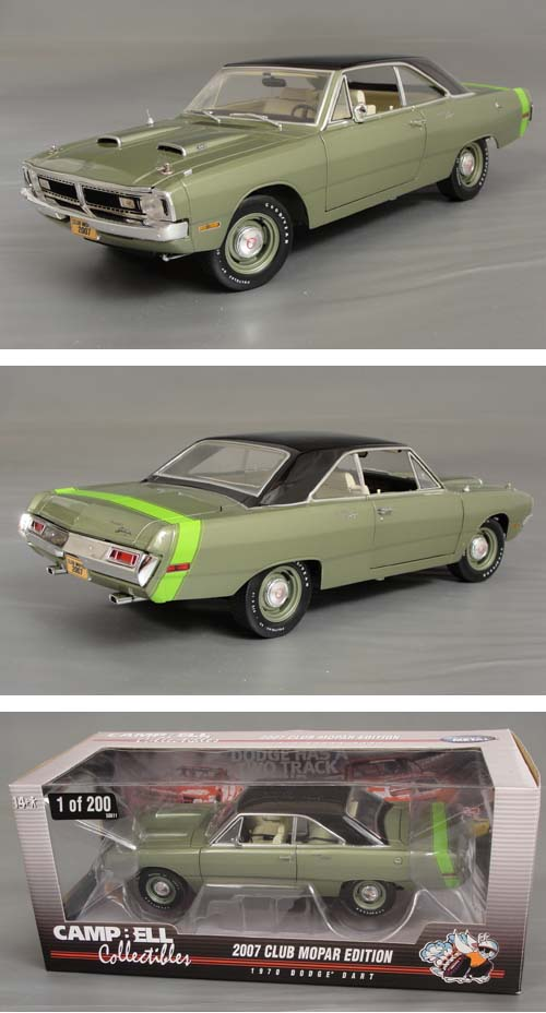 1970 Dodge Dart 340 Swinger (Chase Car..!)