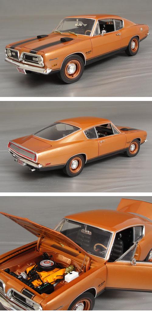 1969 Plymouth Cuda 440 Details - Diecast cars, diecast model