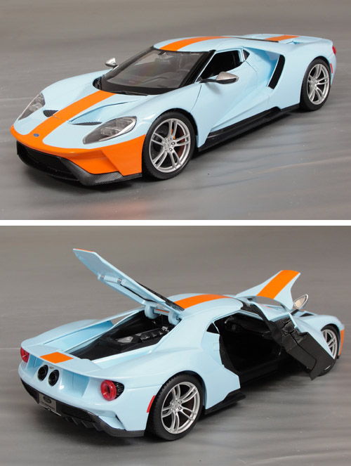 2017 Ford GT, Gulf Racing Colors..!