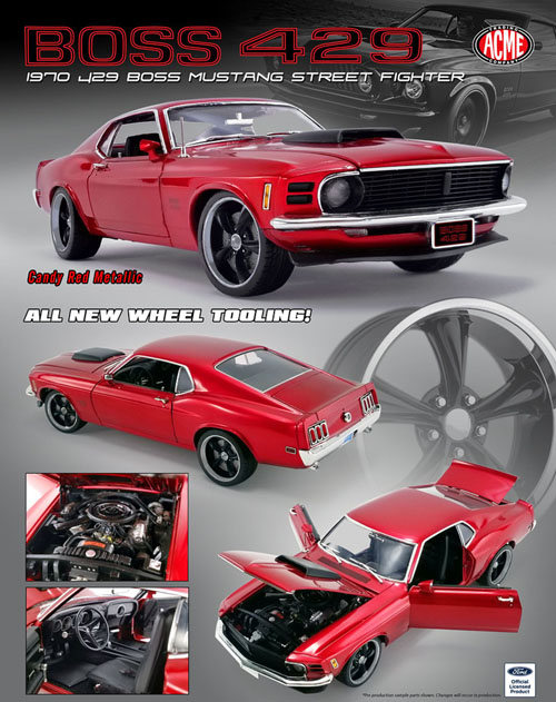 1970 Ford Mustang Boss 429 Street Fighter