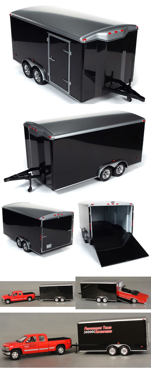 Enclosed Tandem Wheel Trailer