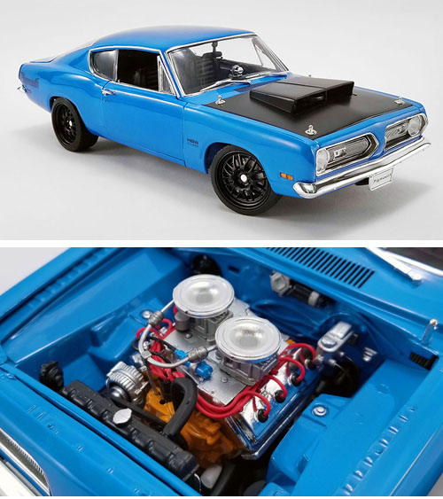 1969 Plymouth Barracuda, Hemi Street Fighter