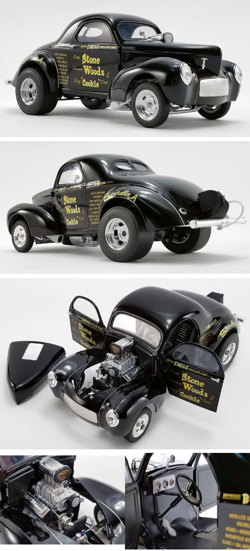 1941 Willys, Stone, Woods & Cook Gasser