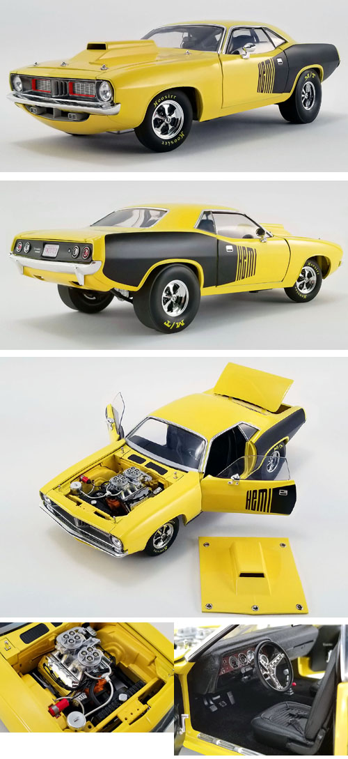 1972 Plymouth Cuda Hemi Drag Car
