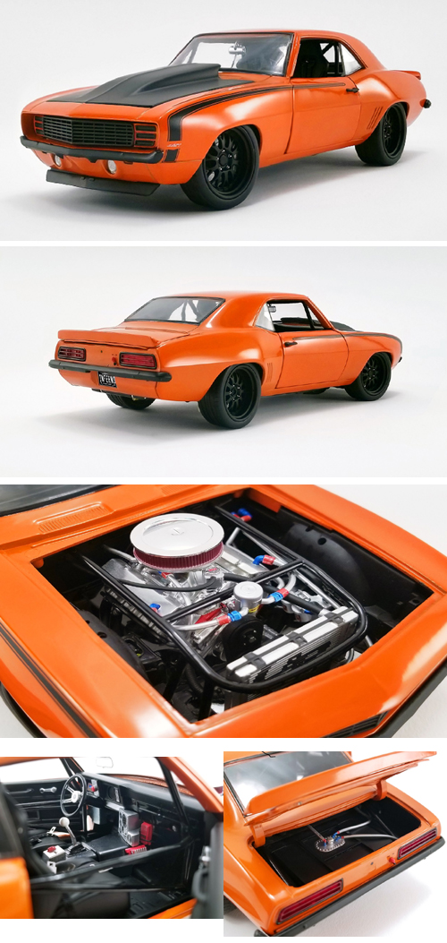 1969 Chevrolet Camaro Street Fighter 427