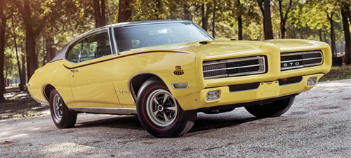 1969 Pontiac Judge